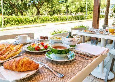 Colazione Hotel Agugliastra Santa Maria Navarrese Sardegna